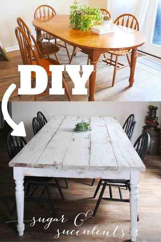 Comment relooker une table de salle à manger ?